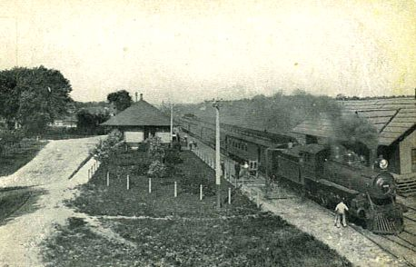 MC Train at the Nashville Depot